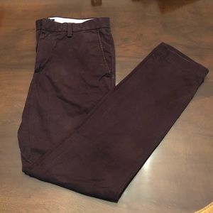 Nana Republic Men's 31x32 Grape Fulton Chino
